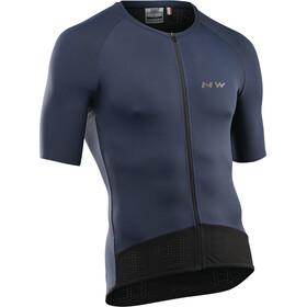 Northwave Essence Koszulka z krótkim rękawem Mężczyźni, niebieski
